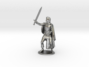 Belgarion Miniature in Natural Silver: 1:55