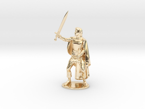 Belgarion Miniature in 14k Gold Plated Brass: 1:55