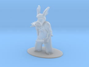Cerebus the Aardvark Miniature in Smoothest Fine Detail Plastic: 1:55