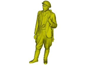 1/35 scale WWII Soviet resistance partisan figure in Smooth Fine Detail Plastic