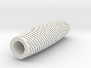 Artisan Mini Key Ring Pen Tube finger grip in White Strong & Flexible