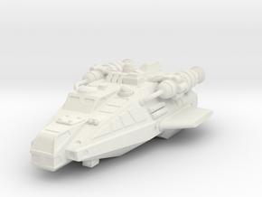 Tramp Freighter, Flying in White Natural Versatile Plastic
