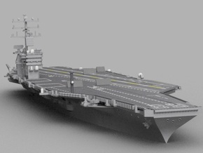 1/1800 USS Nimitz in Smooth Fine Detail Plastic