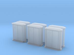 TJ-H01148x6 - Armoires PTT petites in Smooth Fine Detail Plastic