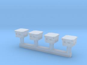 TJ-H04670 - Boitiers de connexion inductive in Smooth Fine Detail Plastic