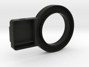 O-Light 8cm in Black Natural Versatile Plastic