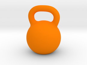 Kettlebell For You in Orange Processed Versatile Plastic