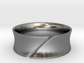Slice in Polished Silver