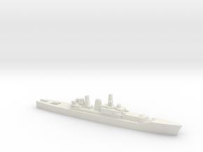 Leander-class frigate w/ Ikara, 1/1800 in White Natural Versatile Plastic