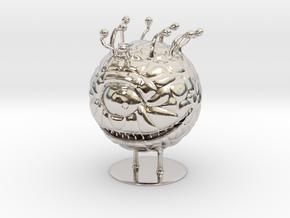 Beholder Miniature in Platinum: 1:55