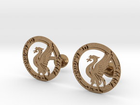 Liverbird the icon of Liverpool in Natural Brass