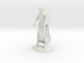 High Elf Miniature in White Natural Versatile Plastic: 1:55