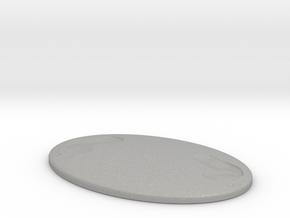 Invisible Stalker Miniature in Aluminum: 1:55