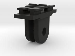 Contour Cam to GoPro Mount Adapter (Forward Tiltin in Black Natural Versatile Plastic