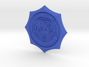 Emblem BSAA D50 in Blue Strong & Flexible Polished