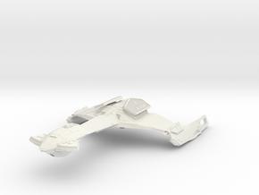 Klingon D28 WindBird  AssaultCruiser in White Strong & Flexible