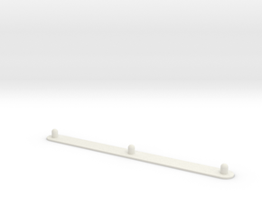 "Animation Peg Bar (8.5"" x 11"" Standard Hole Punch) in White Natural Versatile Plastic"