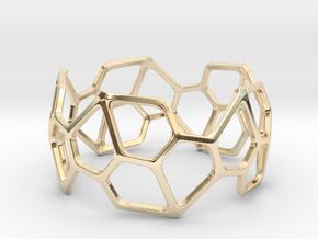 Bracelet Hex in 14K Yellow Gold