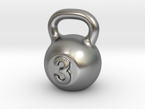 Little Kettlebell For You in Natural Silver