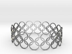 Bracelet CVB XL in Polished Silver