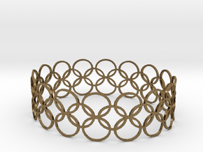 Bracelet CVB XL in Natural Bronze
