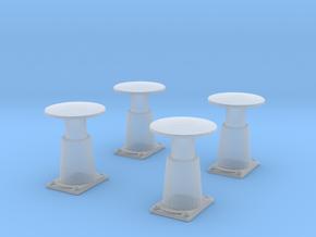 TTTE - Märklin Buffer Set [H0/00] in Smooth Fine Detail Plastic