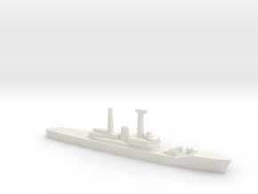 Leander-class frigate Batch 3, 1/1800 in White Natural Versatile Plastic