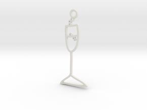 Champagne Charm! in White Natural Versatile Plastic