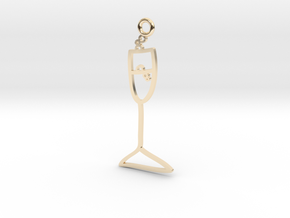Champagne Charm! in 14K Yellow Gold