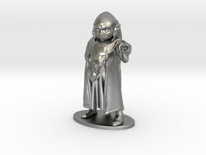 Dungeon Master Miniature in Raw Silver: 1:55