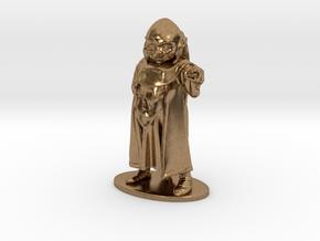 Dungeon Master Miniature in Raw Brass: 1:55