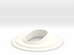 1.8 EC725 SMALL EXHAUST SYTEM in White Processed Versatile Plastic