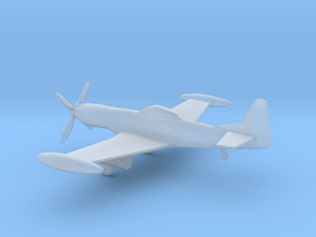Piper PA-48 Enforcer / Cavalier X-22 Mustang 3 in Smooth Fine Detail Plastic: 1:285 - 6mm