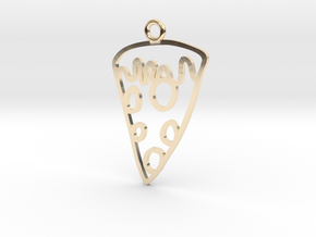 Pizza Charm! in 14K Yellow Gold