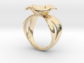 The Little Briar Rose in 14K Gold