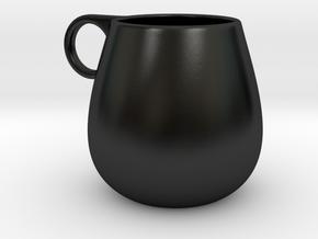Coffee Mug in Matte Black Porcelain