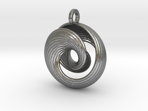 Mobius IV in Natural Silver