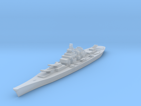 USS IOWA in Smooth Fine Detail Plastic