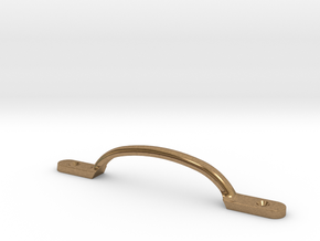 1/2 Scale Smith/Capaldi Large Door Handle  in Natural Brass