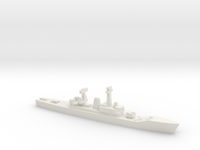 Van Speijk-class frigate (1963), 1/2400 in White Natural Versatile Plastic