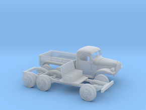 1/160 1945-50 Dodge Power Wagon  6X6 in Frosted Ultra Detail