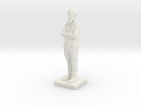 Printle C Homme 596 - 1/64 in White Natural Versatile Plastic