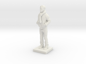 Printle C Homme 599 - 1/64 in White Strong & Flexible