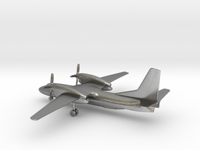 Antonov An-32 Cline in Natural Silver: 1:285 - 6mm
