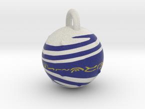 Blitzball Keychain in Full Color Sandstone