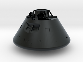 1/100 Orion Capsule (Name Your Own) in Black Hi-Def Acrylate