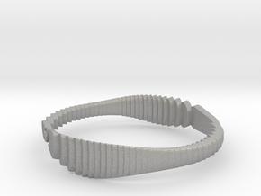 Parametric Bracelets in Aluminum