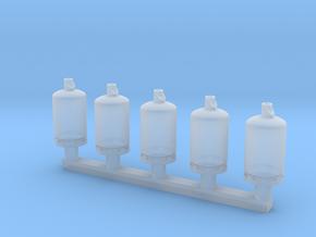TJ-H02001x5 - Bouteilles de gaz 13kg in Smooth Fine Detail Plastic