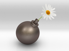 Bomb Vase in Stainless Steel
