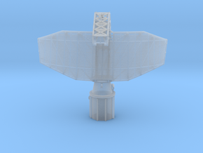 1:96 SPS 40 Radar in Smooth Fine Detail Plastic